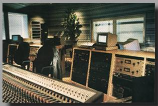 Control Room A with Neve VR72 with Flying Faders