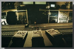 Control Room A with a lot of Outboard Equipment